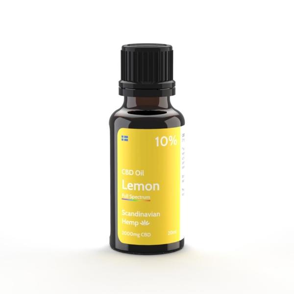10% CBD Έλαιο Λεμονιού 20 ml