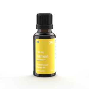 2% CBD Έλαιο Λεμονιού 20 ml