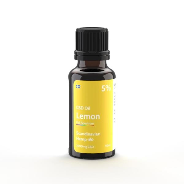 5% CBD Έλαιο Λεμονιού 20 ml