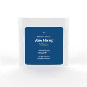 BLUE HEMP Κάψουλες, 60 τμχ