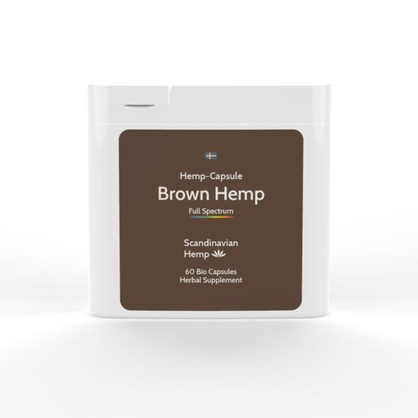 BROWN HEMP Κάψουλες 60 τεμ.