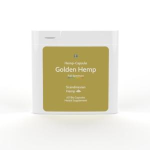 GOLDEN HEMP Κάψουλες
