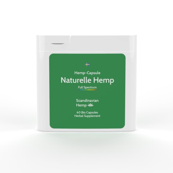 Natural Hemp Κάψουλες (CBD Κάψουλες)